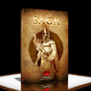 Saga Acoustic Trailer Percussion Red Room Audio
